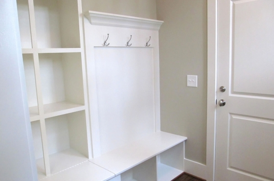 Custom built-ins at owners entry