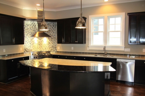 custom kitchen designCustom home by MarDon Construction