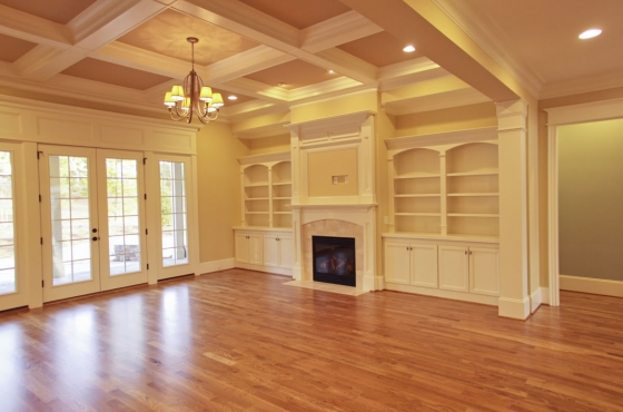 Custom built-ins by MarDon Construction