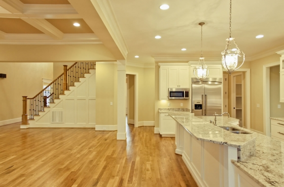 Custom gourmet kitchen by MarDon Construction