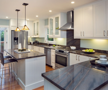 Custom modern kitchen by MarDon Construction